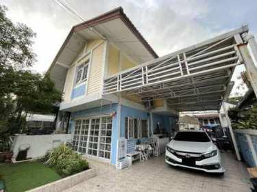 ขายบ้านเดี่ยว 2 ชั้น 55 ตรว. หมู่บ้านสหกรณ์การบินไทย แจ้งวัฒนะ 43 ทำเลดีใกล้สถานีรถไฟฟ้า